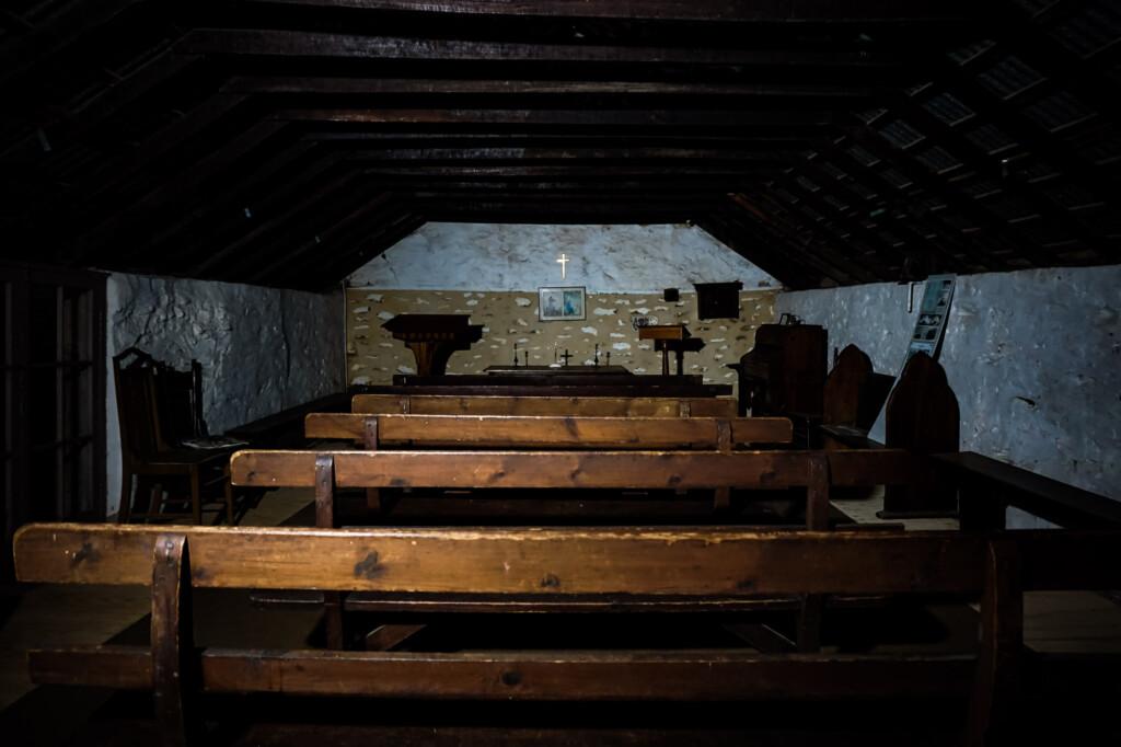 Glenbarr chapel.