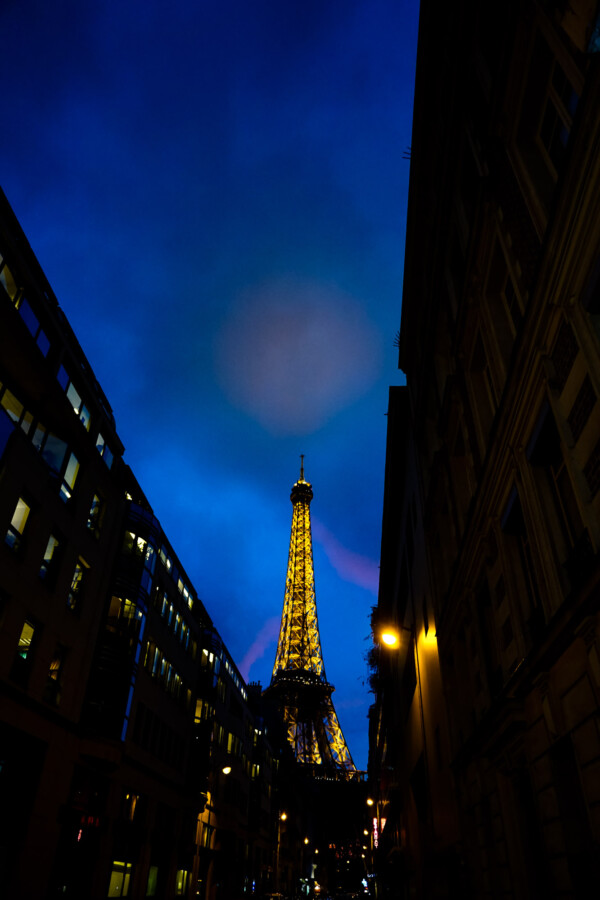 Eiffel Tower haunted in Paris.