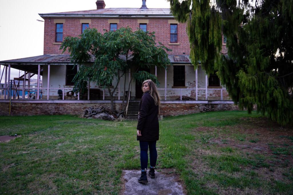 Ladies' Cottage at Willow Court Asylum.