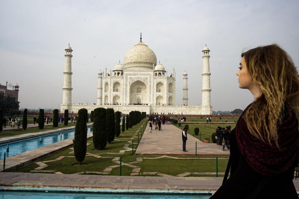 Taj Mahal India.