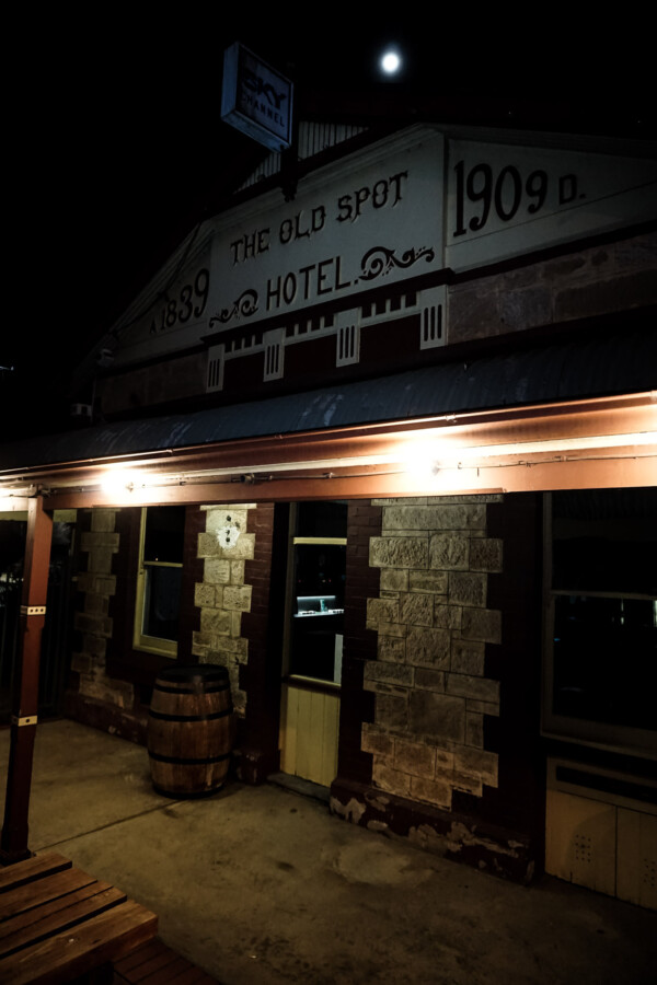 Haunted Old Spot Hotel, South Australia.