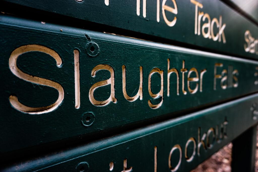 Haunted Slaughter Falls.