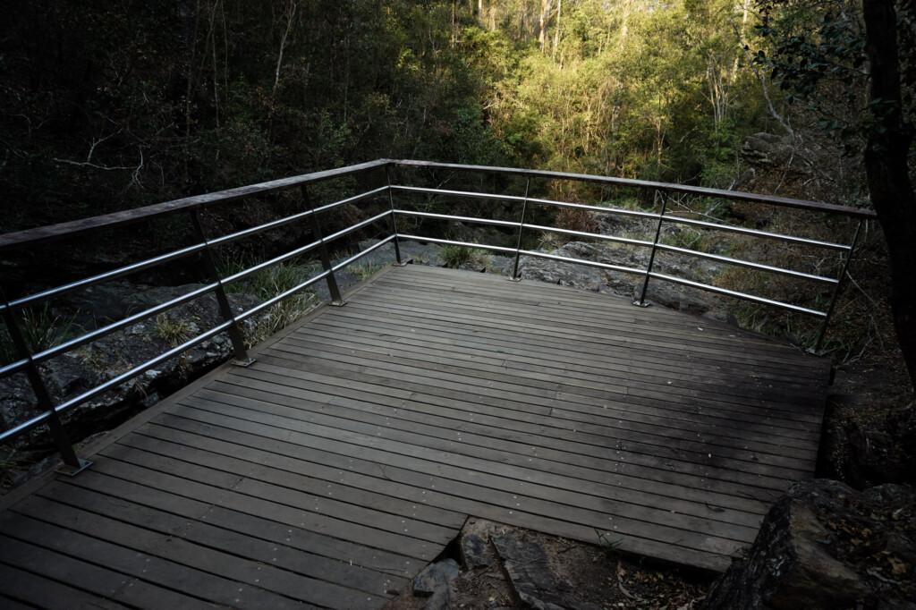 Haunted hiking trail.