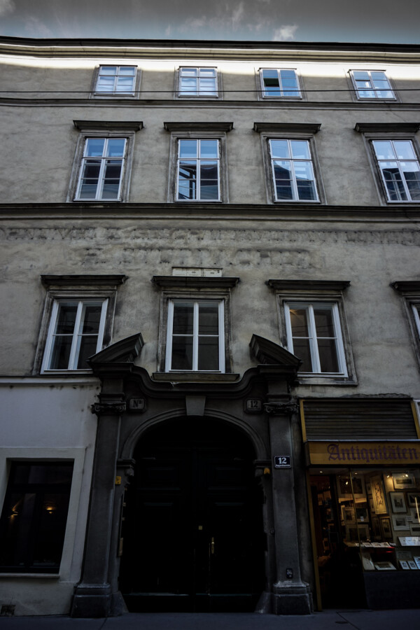 Vienna's most haunted house.