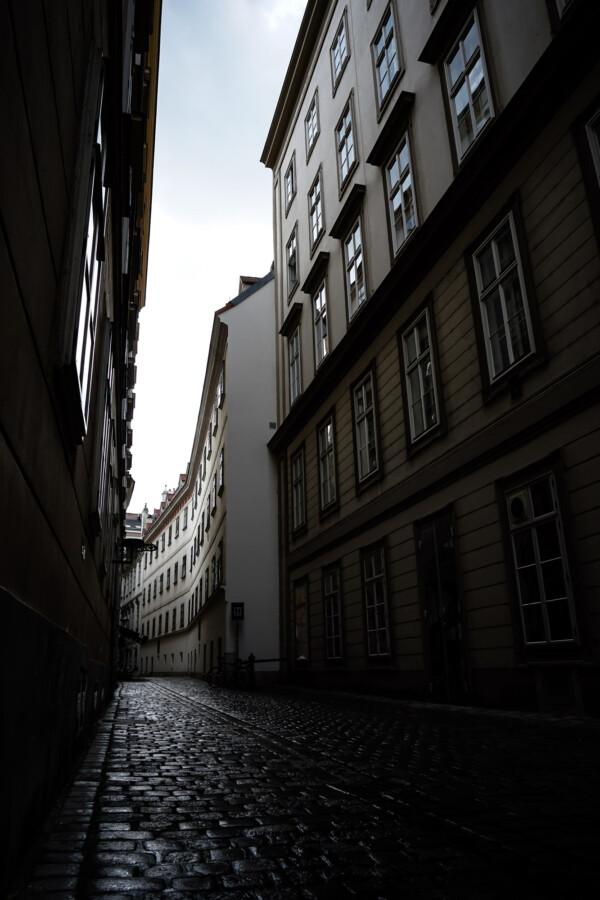 Street in Vienna.