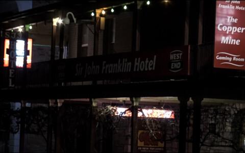 Haunted Pub in Kapunda: Sir John Franklin Hotel
