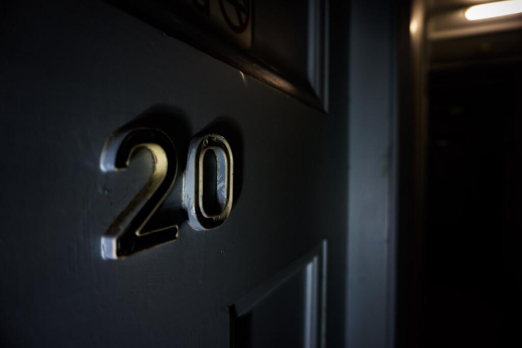 Room 20 Sir John Franklin Hotel.