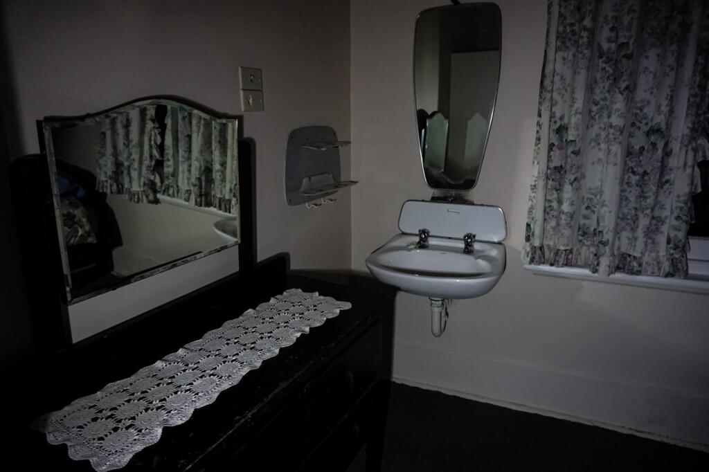 Haunted hotel room South Australia.
