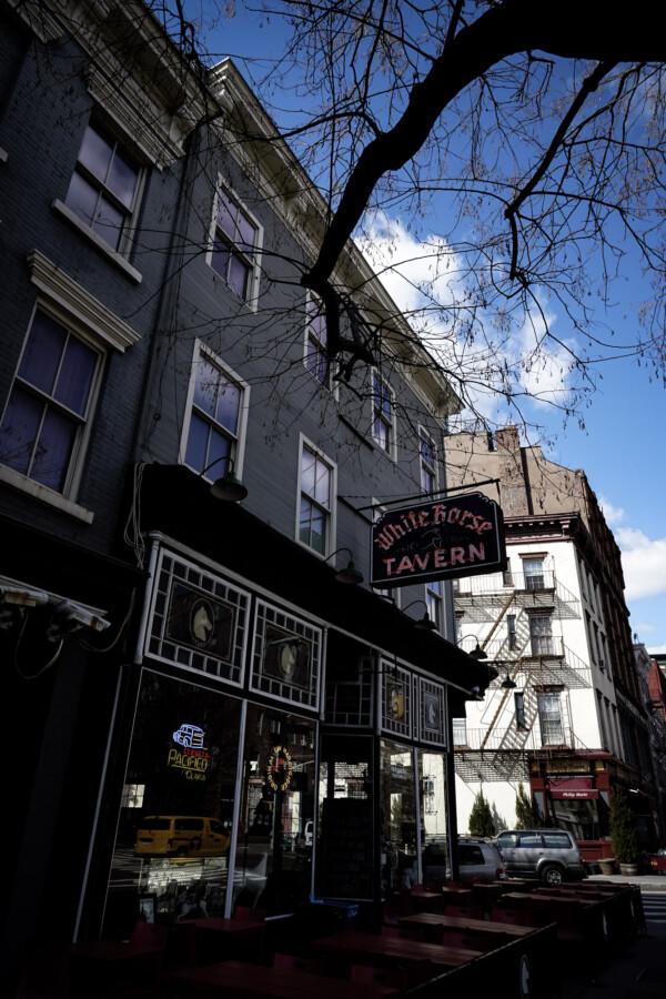 Haunted bar in New York City.