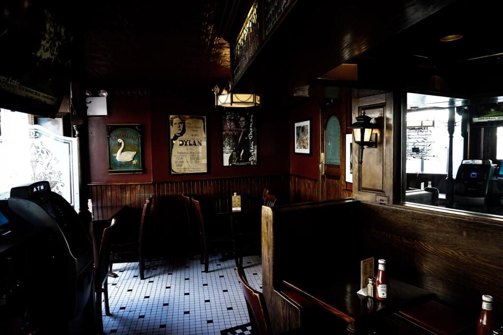 Haunted tavern in New York City.