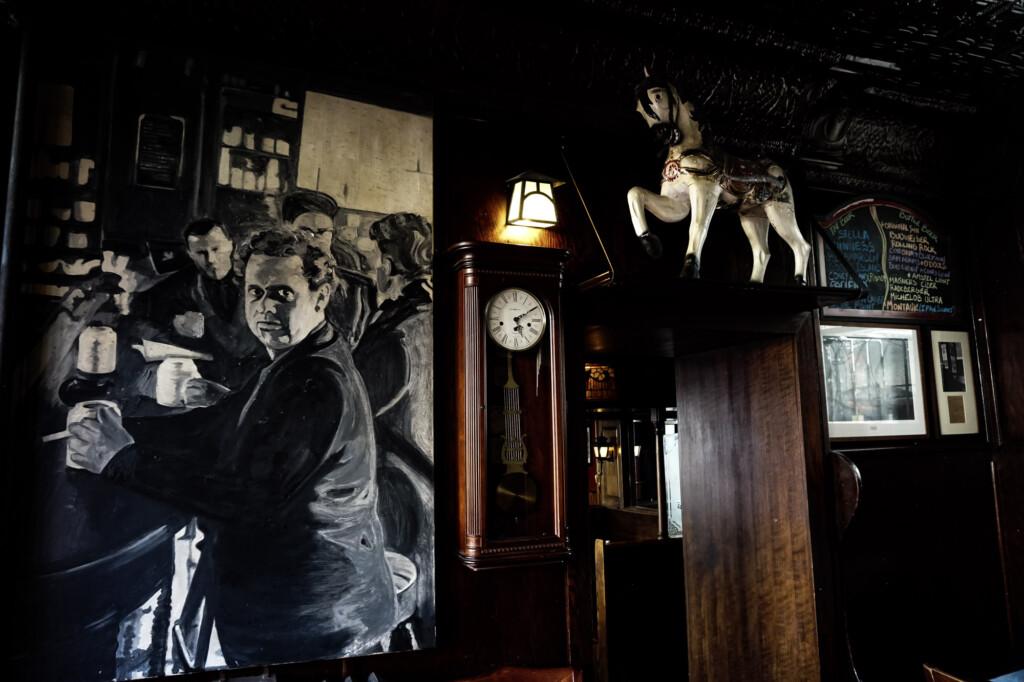 Haunted tavern in New York.