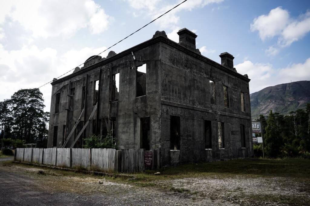 Linda ghost town in Tasmania.