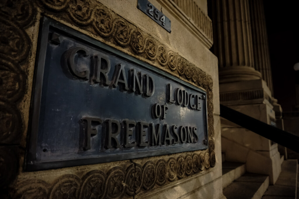 Ghosts of the Grand Lodge of the Freemasons.