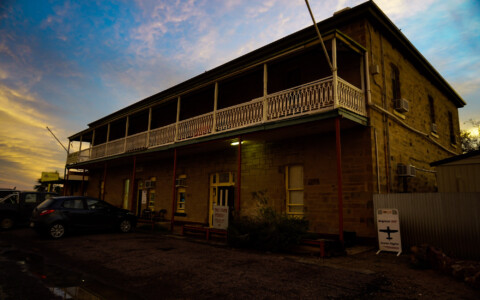 Haunted Marree Hotel, South Australia