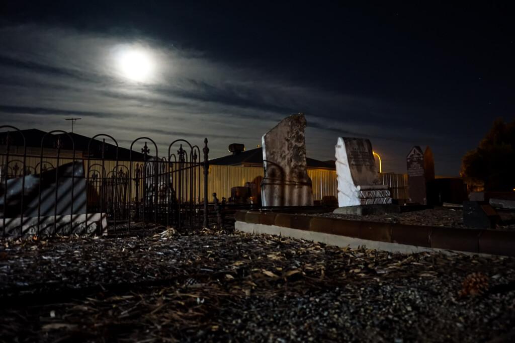 Haunted Burton Pioneer Cemetery, South Australia.