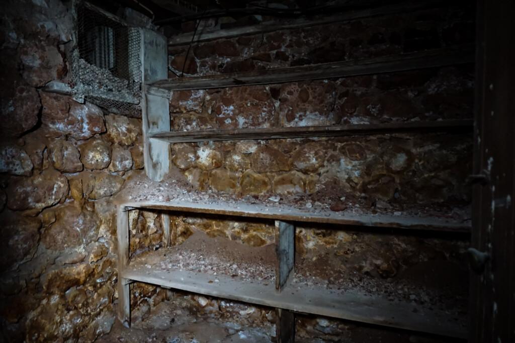 Children's morgue under the Cornwall Hotel Moonta.