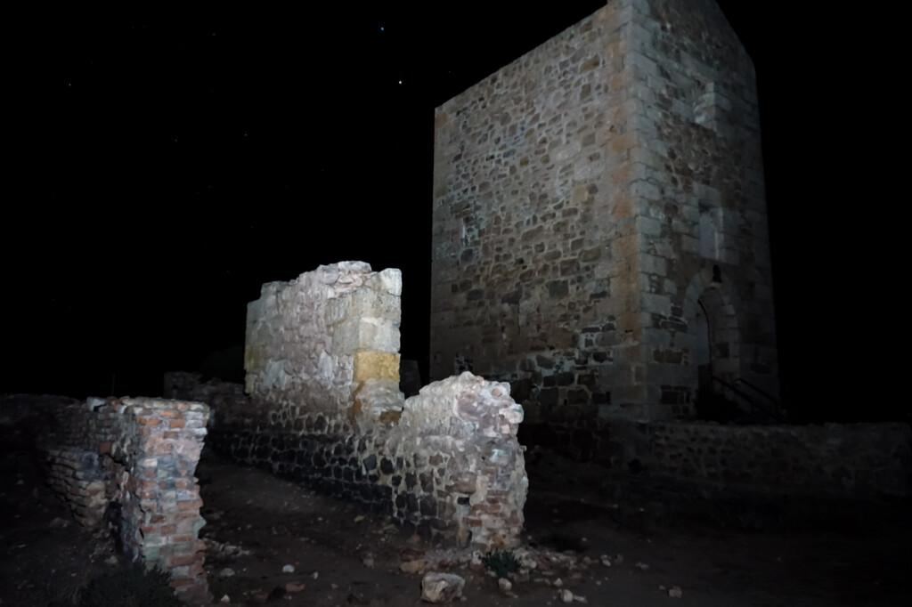 Moonta Mines ruins.