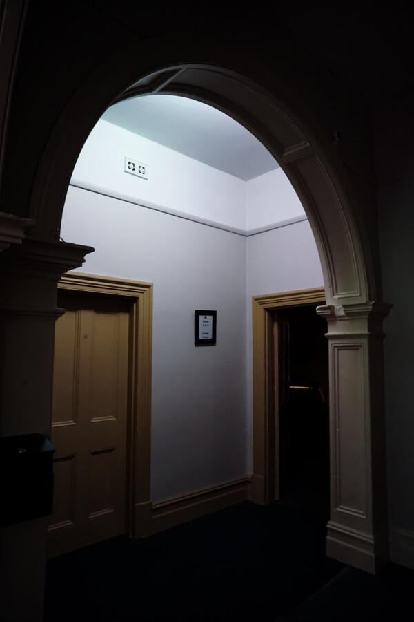 Haunted accommodation area of hotel.