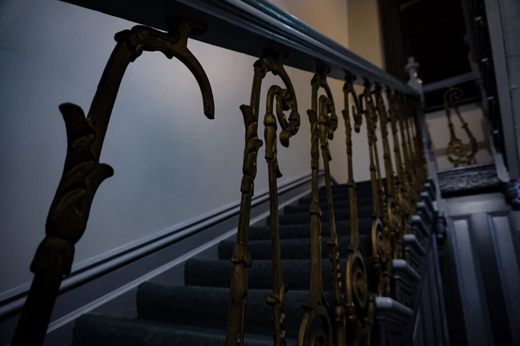 Little girl ghost haunts staircase in Grand Hotel Millicent.