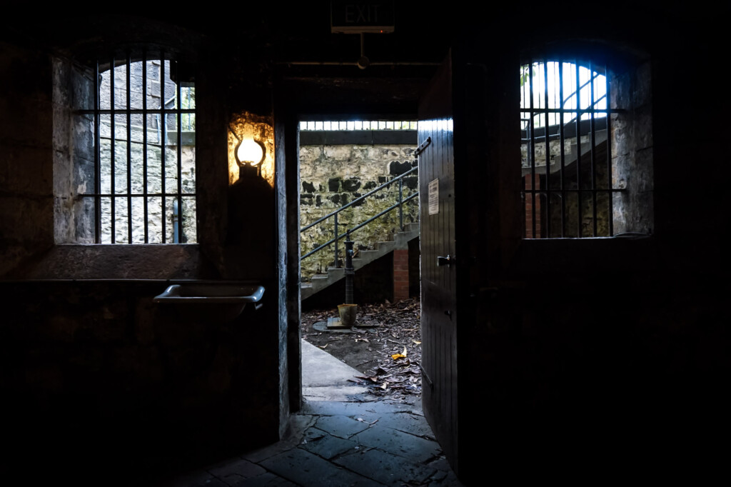 Haunted underground at J Ward.
