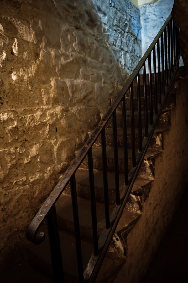 Haunted staircase.
