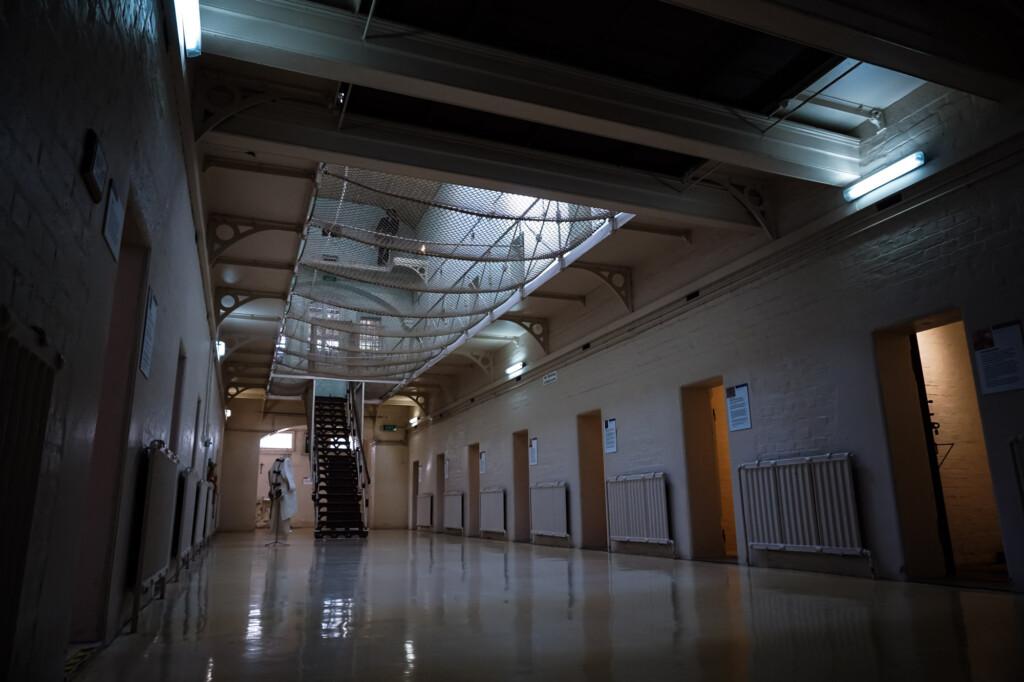Original prison cellblock at J Ward, Victoria.