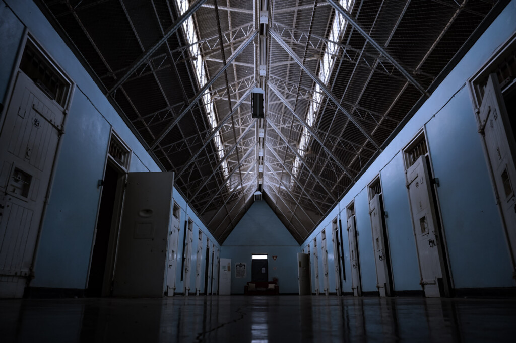 Haunted maximum security at Gladstone Gaol.