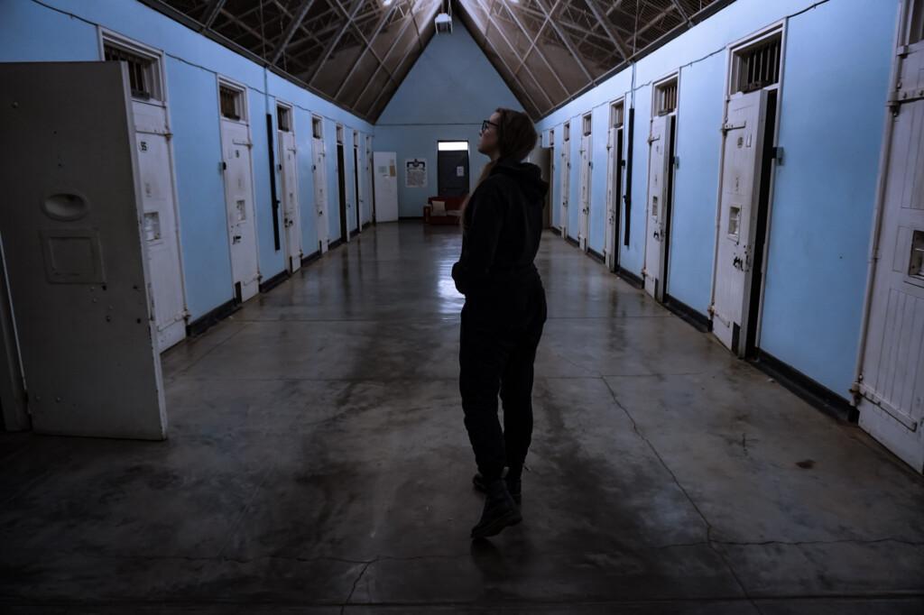 Haunted prison in South Australia.