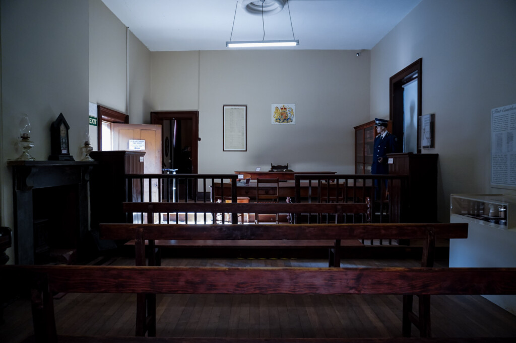 Courthouse museum in Melrose, South Australia.