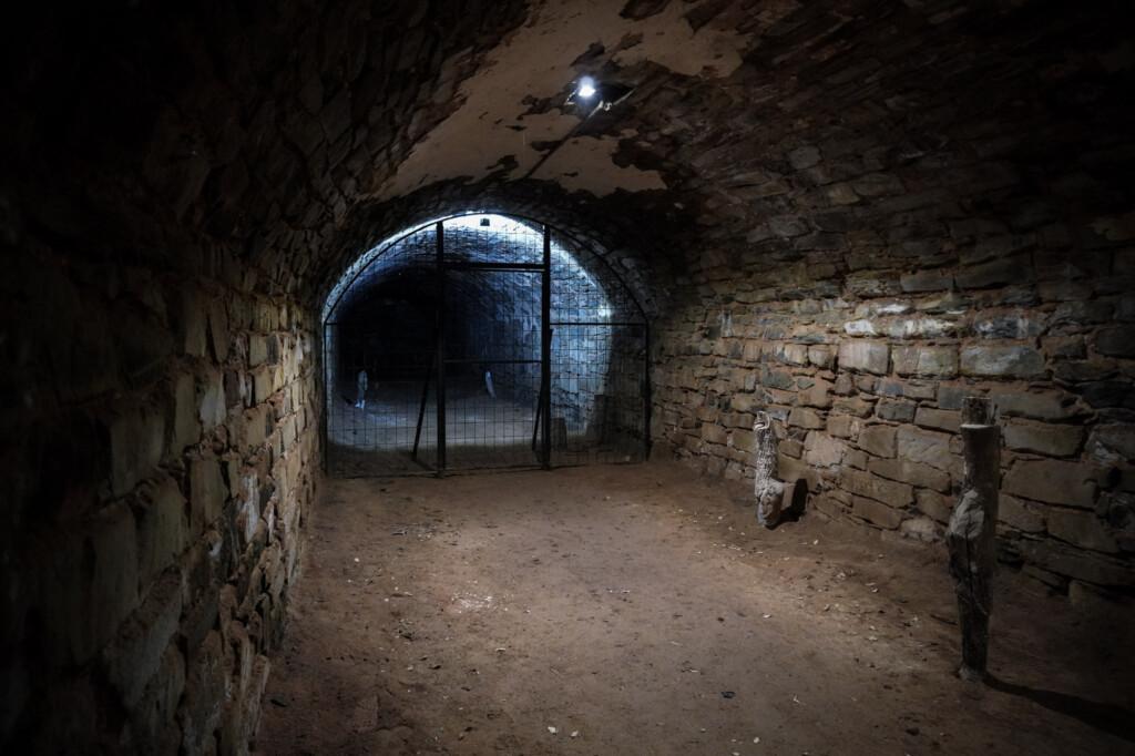 Haunted tunnels in Burra.