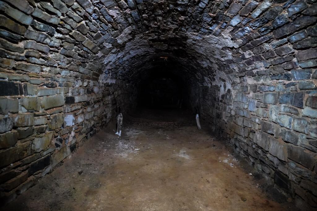 Unicorn Brewery Cellars Burra Haunted.