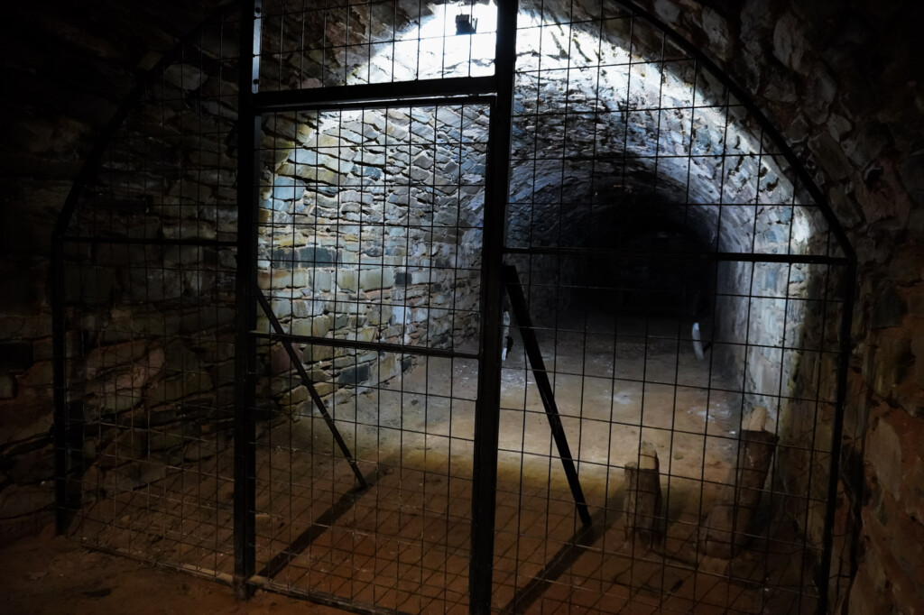 Haunted Unicorn Brewery Cellars ghosts.