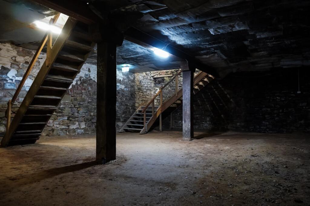 underground cellars in Burra.
