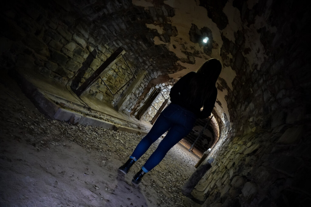 Ghosts of Burra Unicorn Brewery Cellars tunnels.