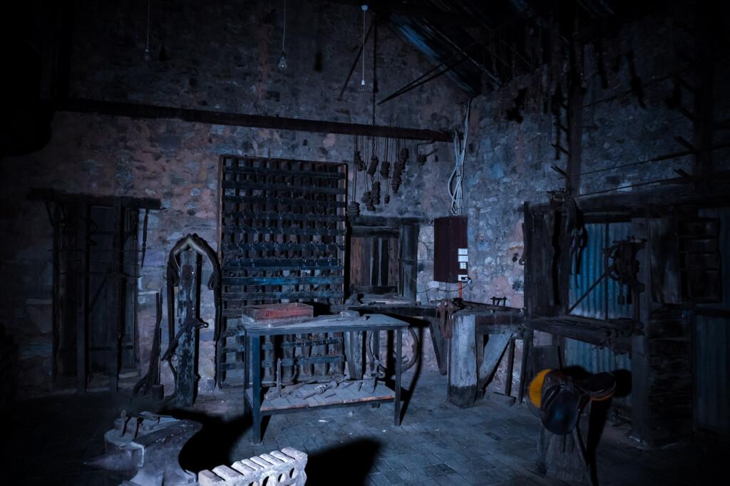 Haunted blacksmith.